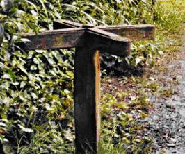 "Turnstile between Homestead ""Koshuis"" and Junior School"