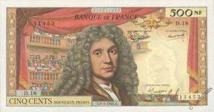 500 New Francs