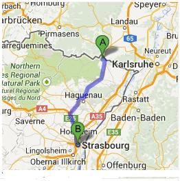Wissembourg (French-German border)