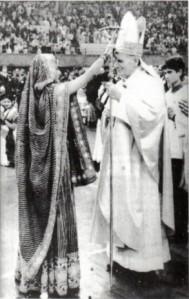 pope john paul hindu