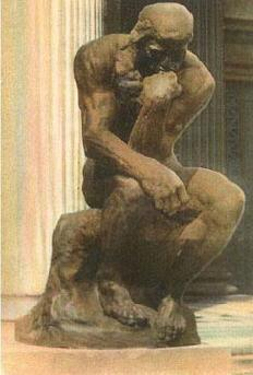 Le Penseur (The thinker) -Auguste Rodin