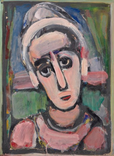 George Rouault; The clown.