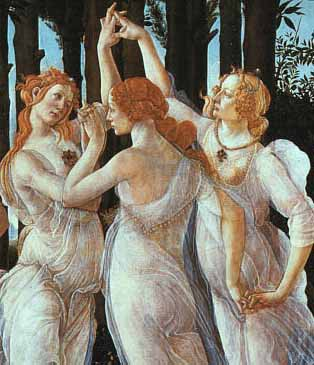 Boticelli - The three graces